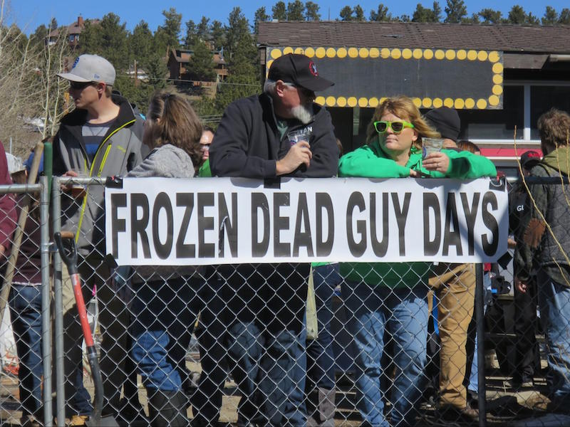 Frozen Dead Guy Days in Nederland