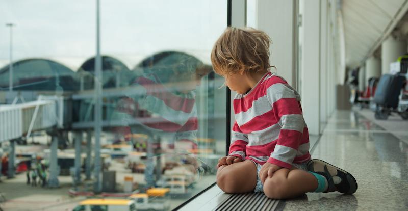 Family misses their flight