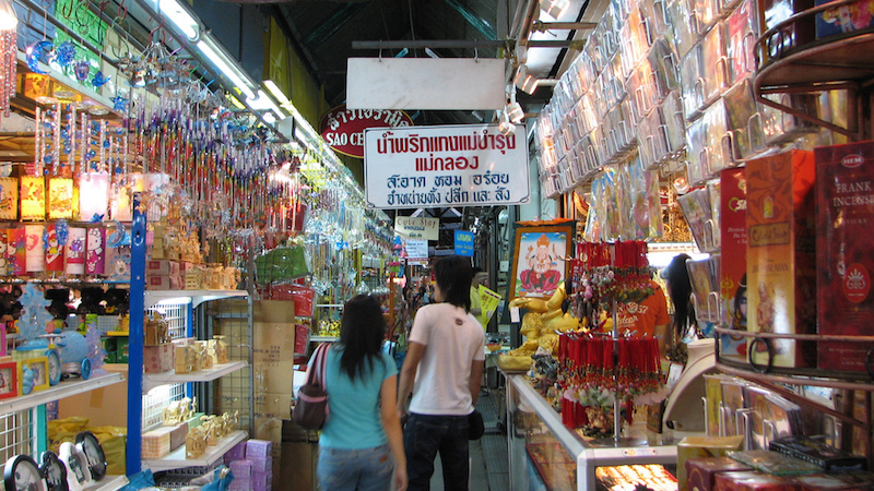 Chatuchak Weekend Market. Photo by Edwin Lee.