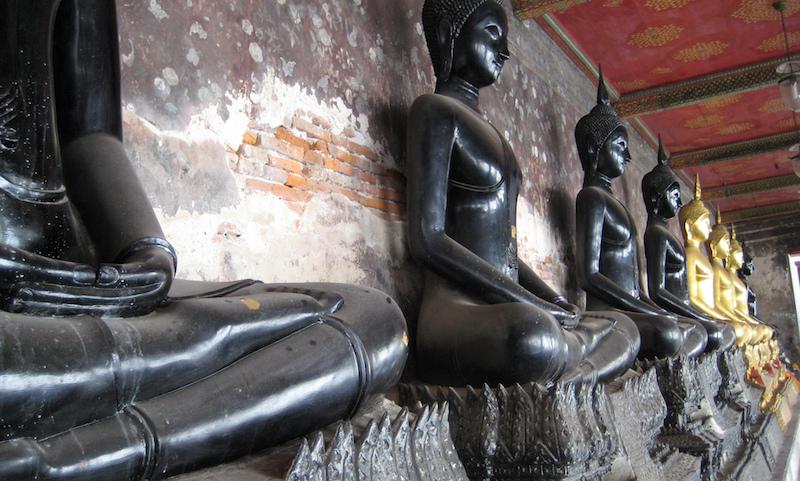 Wat Suthat Buddhas