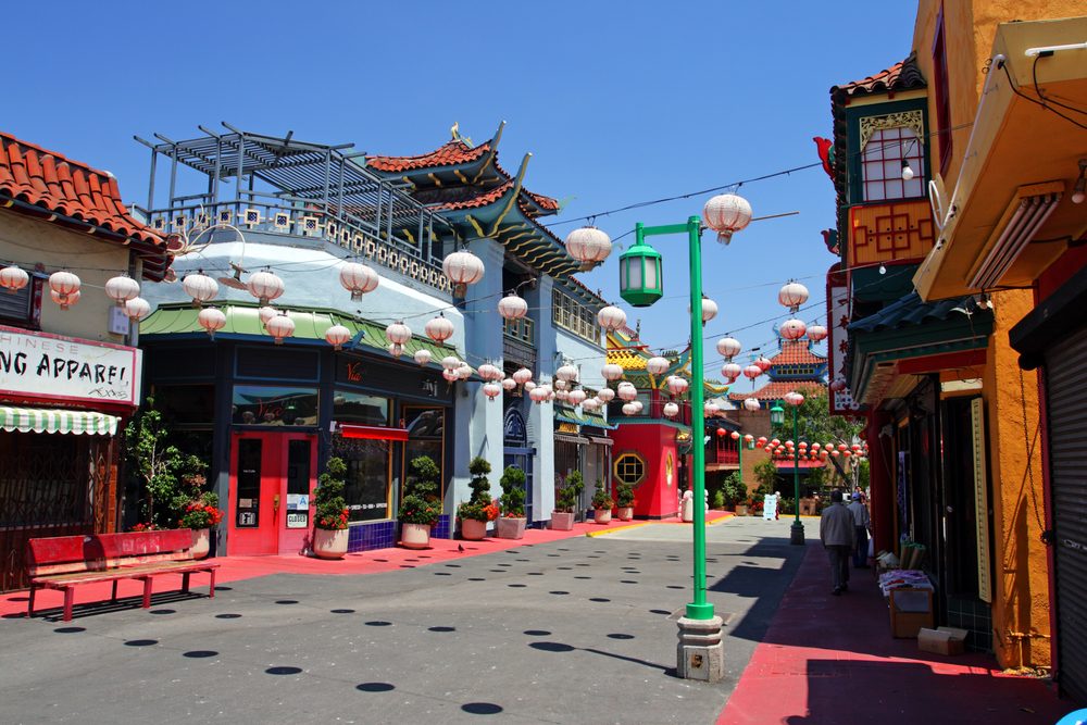 Visiting China Town in Los Angeles
