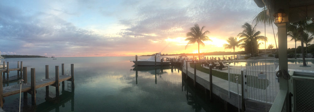 Pretty Sunset in the Florida Keys