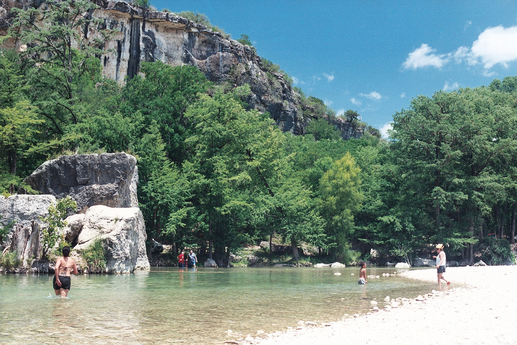 Photo of the Frio River by J.D. Page.
