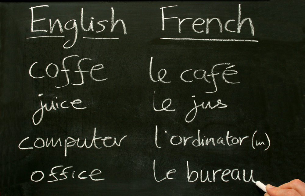 Learn french before you go to france
