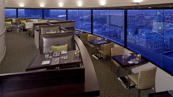 What Ever Hened To Revolving Restaurants The Westin Bonaventure Hotel Suites