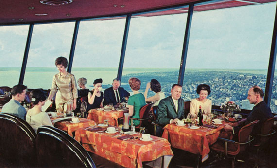 SkyCity (the Eye of the Needle) in 1962.